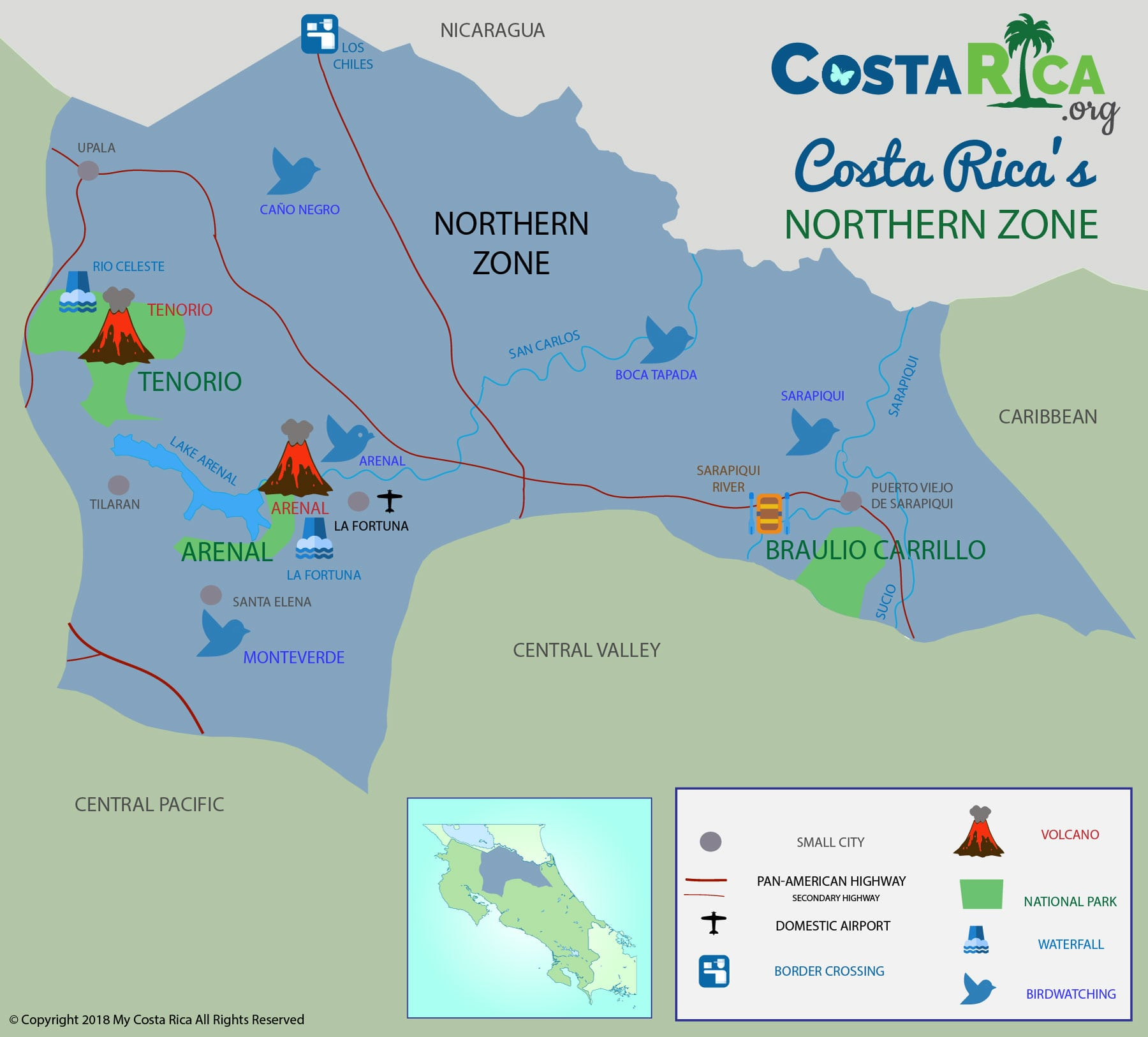 Costa Rica Maps - Every Map You Need for Your Trip to Costa Rica on map of tanzania, map of alajuela, map of the carribean, map of dominican republic, map of the yucatan, map of belize, map of americas, map of united states, map of atlantic ocean, map of puerto rico, map of nicaragua, map of the virgin islands, map of guatemala, map of bahamas, map of caribbean, map of honduras, map of el salvador, map of jamaica, map of bolivia, map of ecuador,