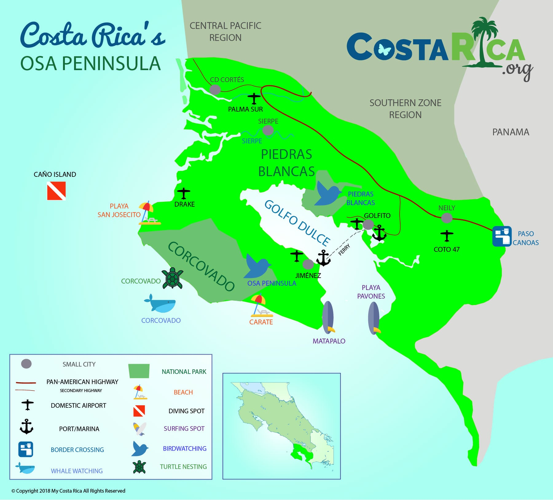 Osa Peninsula in Costa Rica - A Lost Paradise You Must See on